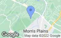 Map of Morris Plains, NJ