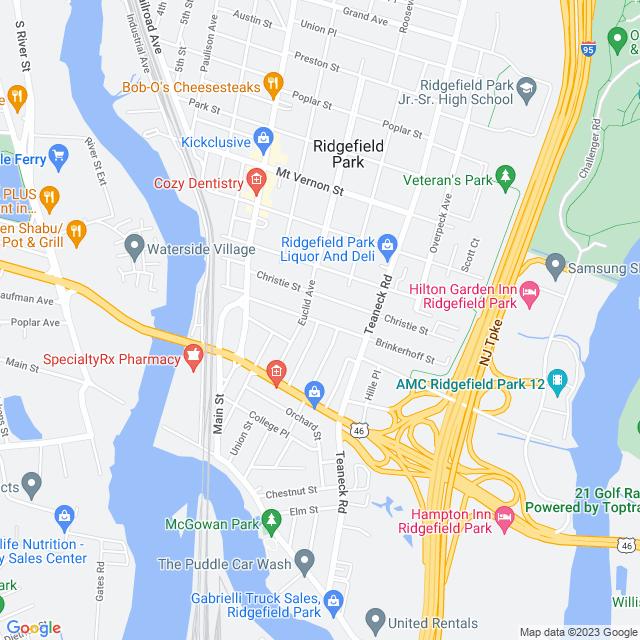 Map of Toll Road | George Washington Bridge
