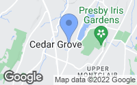Map of Cedar Grove, NJ