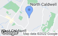 Map of West Caldwell, NJ