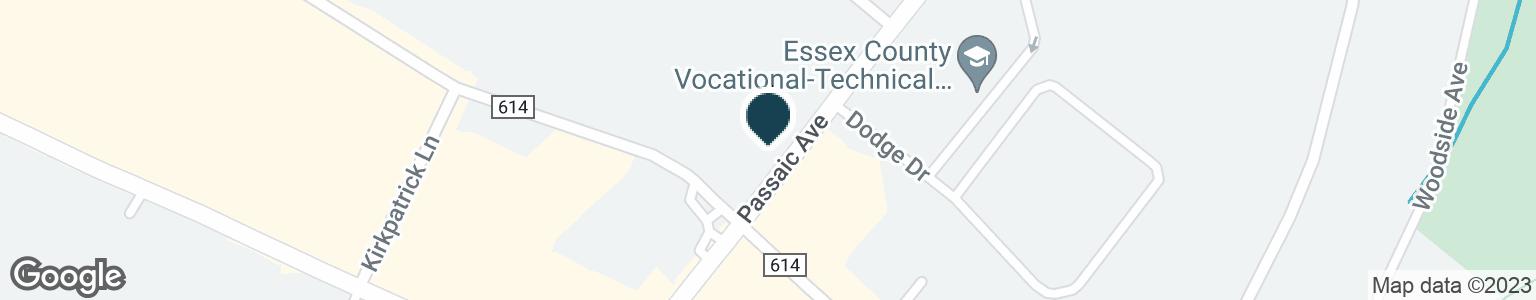 Google Map of601 PASSAIC AVE
