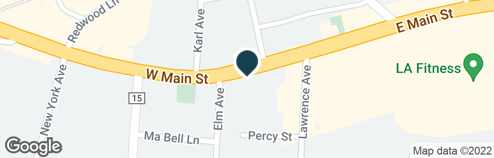 Google Map of10 W MAIN ST