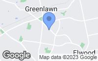 Map of Greenlawn, NY
