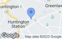 Map of Huntington Station, NY