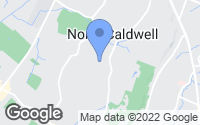 Map of Caldwell, NJ