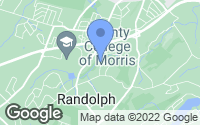 Map of Randolph, NJ