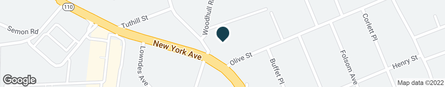 Google Map of984 NEW YORK AVE