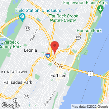 Map of Staples at 461-469 West Street, Fort Lee, NJ 07024