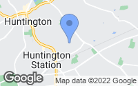Map of Huntington Station, NY