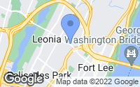 Map of Leonia, NJ
