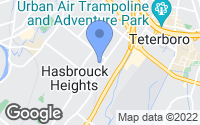 Map of Hasbrouck Heights, NJ