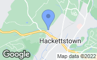 Map of Hackettstown, NJ