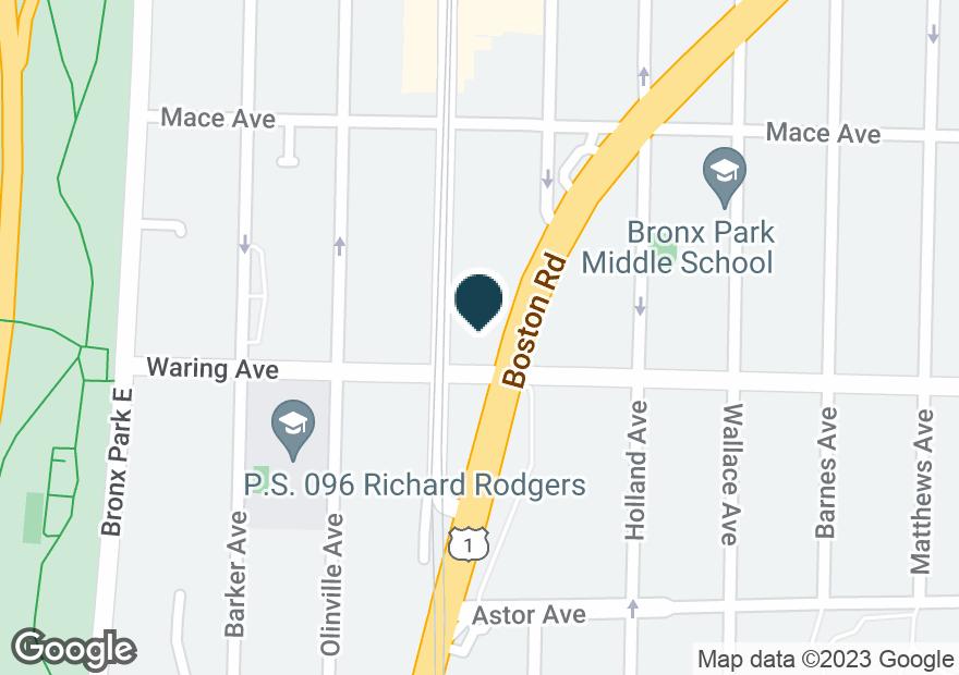Google Map of2431 BOSTON RD