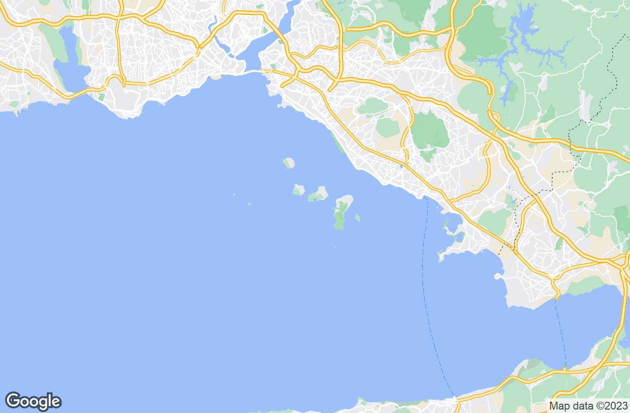 Google Map of Adalar