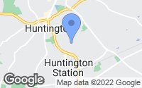 Map of Huntington, NY