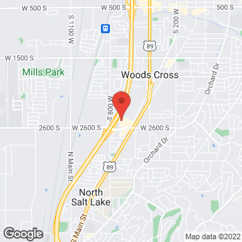 Map of Steward Primary Care Woods Cross at 2493 S Wildcat Way, Woods Cross, UT 84010
