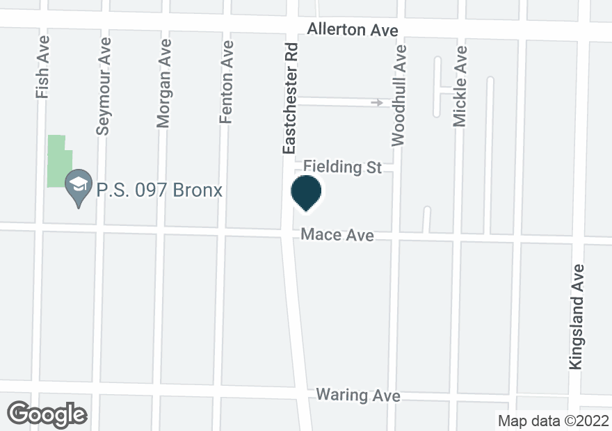 Google Map of2504 EASTCHESTER RD