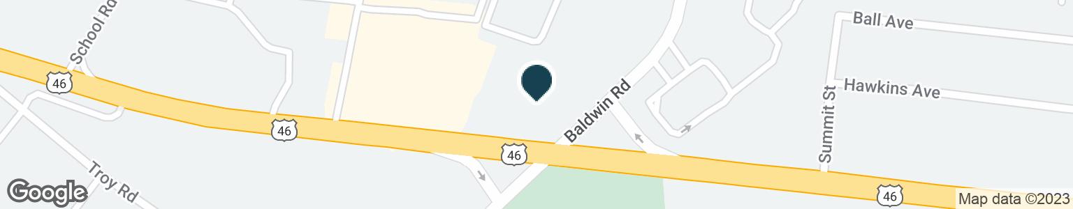 Google Map of200 BALDWIN ROAD