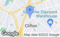 Map of Clifton, NJ