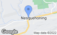Map of Nesquehoning, PA