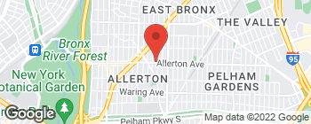 Map of 1013 Allerton Ave in Bronx