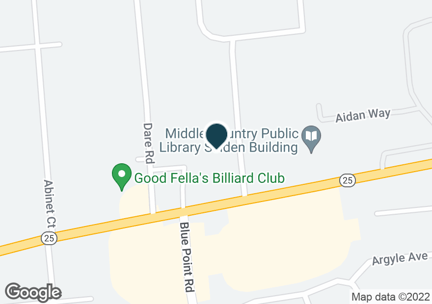 Google Map of655 MIDDLE COUNTRY RD