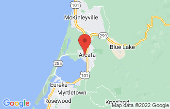 Map of Arcata