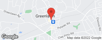 Map of 9 Boulevard Ave in Greenlawn