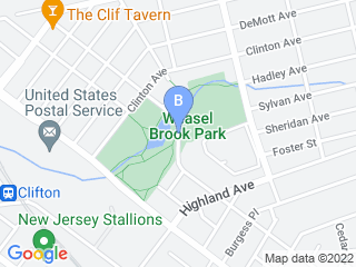 Map of A Click Away Pet Sitting Dog Boarding options in Clifton | Boarding
