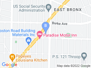 Map of Triboro Animal Hospital Dog Boarding options in Bronx | Boarding