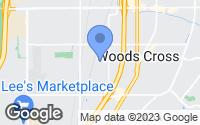 Map of Woods Cross, UT