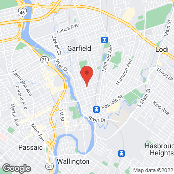 Map of Optimum WiFi Hotspot at 232 Palisade Ave, Garfield, NJ 07026