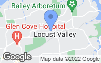 Map of Locust Valley, NY