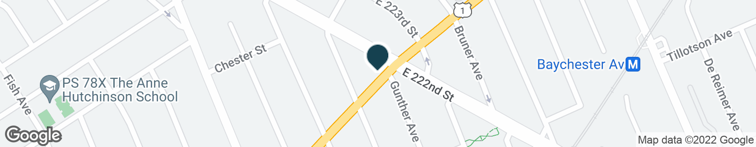 Google Map of3575 BOSTON RD