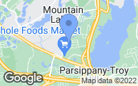 Map of Parsippany-Troy Hills, NJ