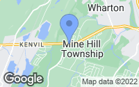Map of Mine Hill Township, NJ