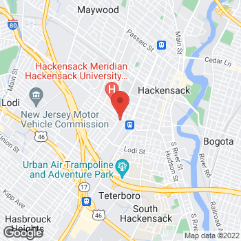 Map of Rite Aid at 219 Essex Street, Hackensack, NJ 07601