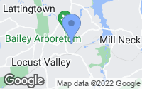 Map of Locust Valley, NY