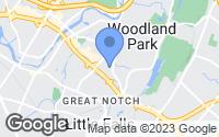 Map of Woodland Park, NJ