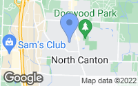 Map of North Canton, OH