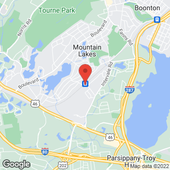 Map of Optimum WiFi Hotspot at 99 Midvale Road, Mountain Lakes, NJ 07046