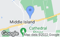 Map of Middle Island, NY