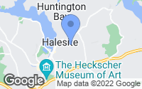Map of Halesite, NY