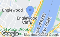 Map of Englewood Cliffs, NJ