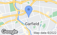 Map of Garfield, NJ