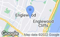 Map of Englewood, NJ