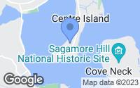 Map of Oyster Bay, NY