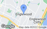 Map of Englewood, NJ