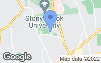 Map of Stony Brook, NY