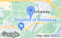 Map of Rockaway, NJ